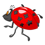 Cartoon Character Ladybird