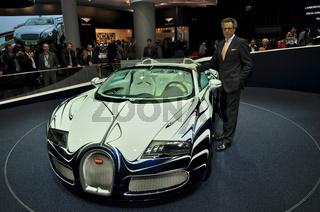 Wolfgang Dürheimer Präsident von Bugatti und Generalbevollmächtigter der Volkswagen AG