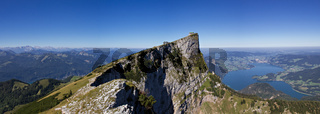 Panorama of the Schafberg mountain
