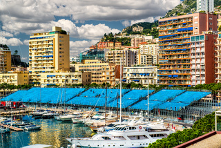 Preparation to Formula 1 Monaco Grand Prix, France