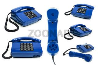 Klassisches Telefon Sammlung