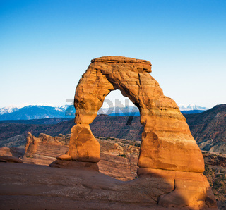 Delicate arch, Arches National Park, USA