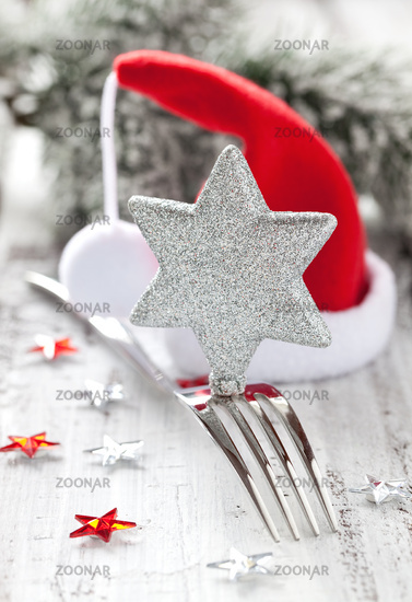 Foto Einladung zum Weihnachtsessen Bild