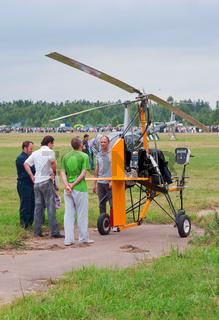 Pilot tells about his autogyro