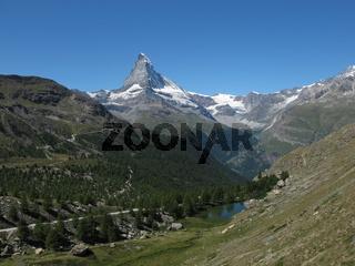 Idyllic Landscape In Zermatt