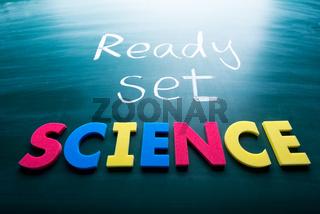 Ready, set, science!