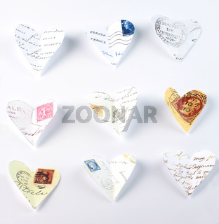 Flying love letters
