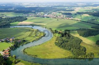 flight over Bavaria