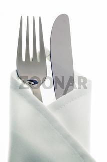Messer, Gabel und Teller