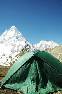Camp in Himalayan
