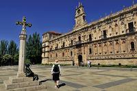 Spanien: Plaza de San Marcos in Leon