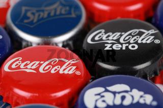 Produkte von Coca-Cola