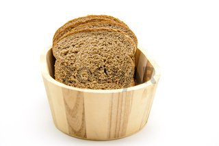 Toastbrot in Brotkiste