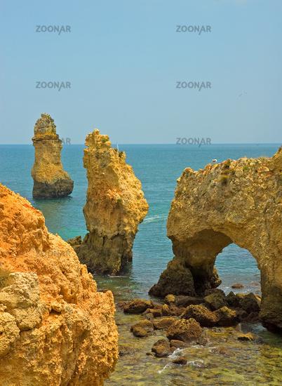 Coastline of Algarve, Portugal