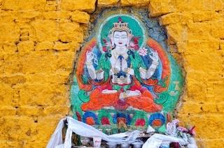 Buddha Verehrung  am Potala-Palast Lhasa Tibet