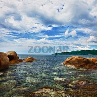Ocean and coastal cliffs - landscape