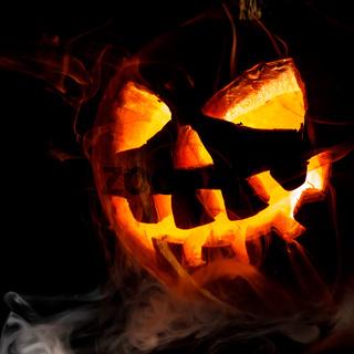 Halloween - old jack-o-lantern