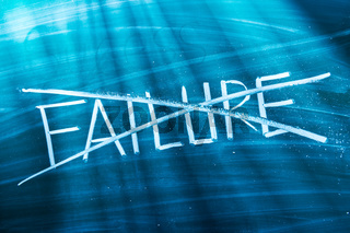 Refused to accept failure
