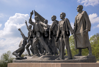 Mahnmal Buchenwald - Figurengruppe