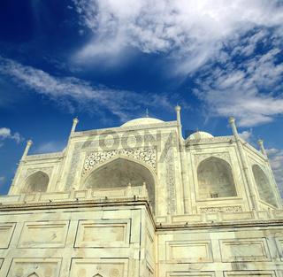 Taj Mahal - famous mausoleum
