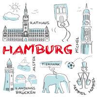 Hamburg, Hansestadt, Sehenswürdigkeiten, Rathaus, HH