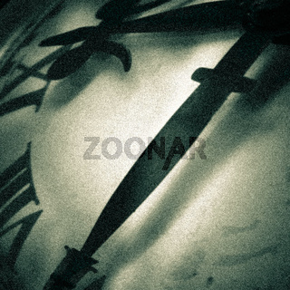 Abstract clock face detail