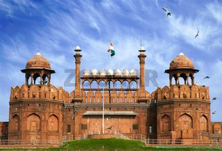 Famous Red Fort - Lal Qil'ah