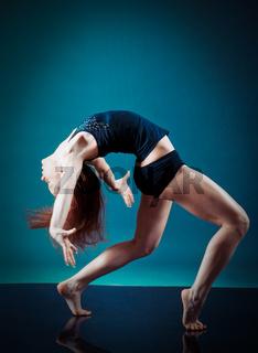 .female performing