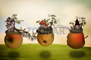 Apfel Welten