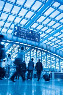 passenger in capital airport