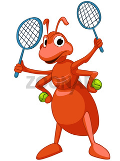 Cartoon Character Ant