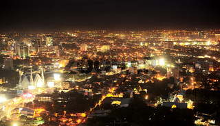 Metro Cebu at night