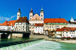 Österreich, Steyr, Altstadt