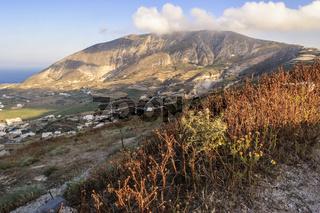 View Across The Island Santorini Greece