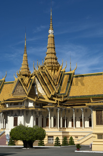 Thronhalle mit Türmen im Königspalast