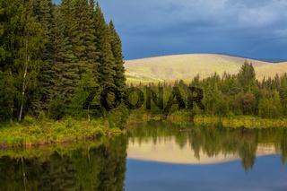 Lake on Alaska
