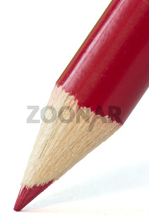 close-up of  red pencil