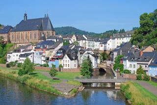 Blick auf Saarburg