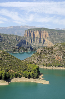Panta de Camarasa reservoir
