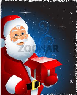 Christmas Santa claus illustration