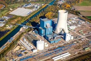 EON Kraftwerk in Datteln. Das Kraftwerk befindet sich noch im Bau.