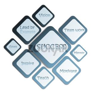 success business diagram