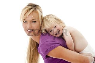 Mutter mit Kleinkind
