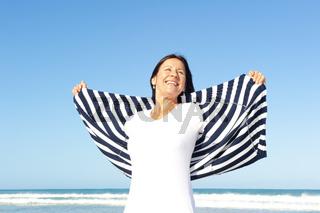 Sexy mature woman retirement joy