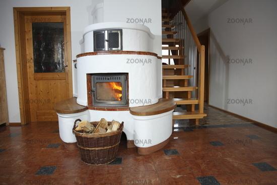 Elegant Wohnzimmer Mit Ofen