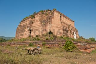 Ruined Mingun Temple, Myanmar