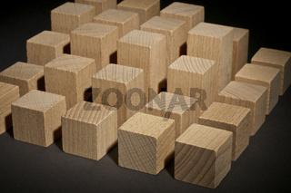 Bauklötze: 3D Säulendiagramm