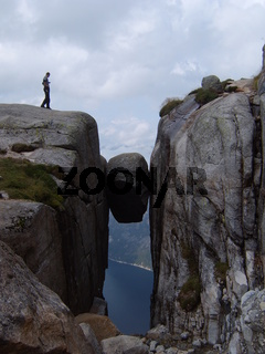 Kjerag Bolten in Norwegen