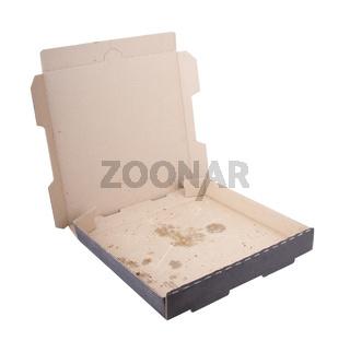 Empty Pizza Box
