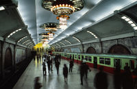 Pjöngjang Puhung U-Bahn Station
